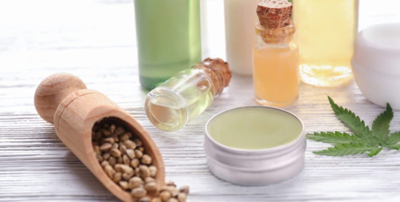 cbd balm and products