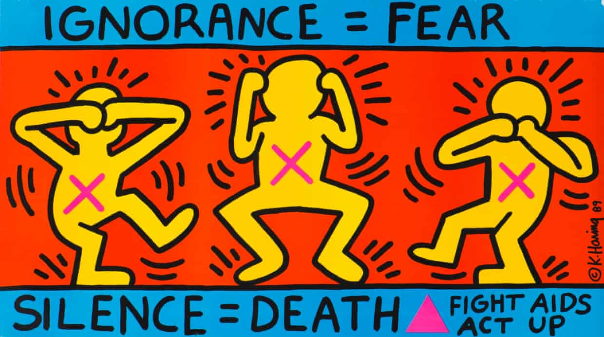 Keith Haring at Tate Liverpool