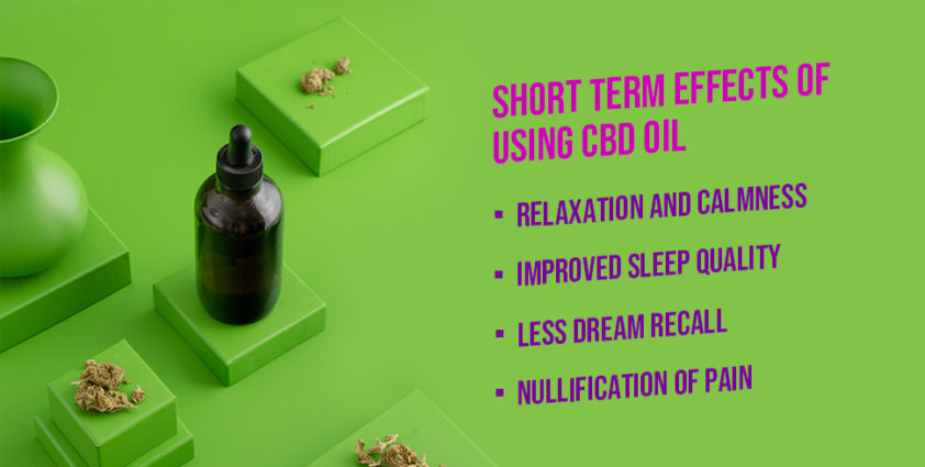 Short Term Effects of CBD Oil