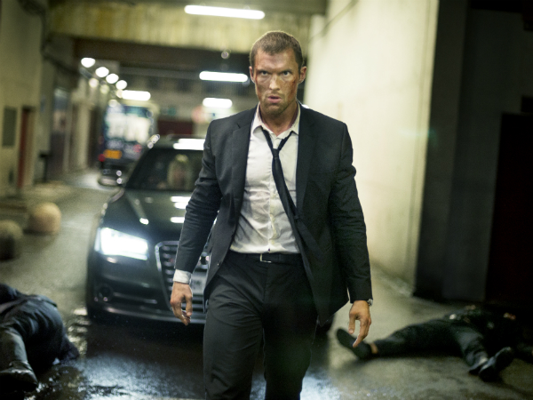 Behind the scenes - Rising star Ed Skrein talks The Transporter Refuelled