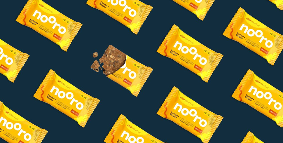 Nooro Lemon and Ginger Oat Bar