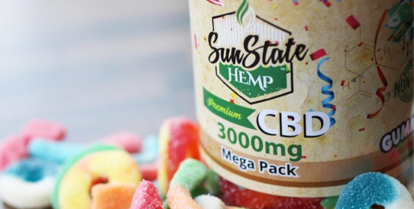 SunState Hemp CBD Gummies
