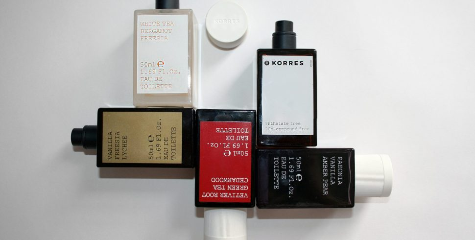 The Korres Fragrance Collection