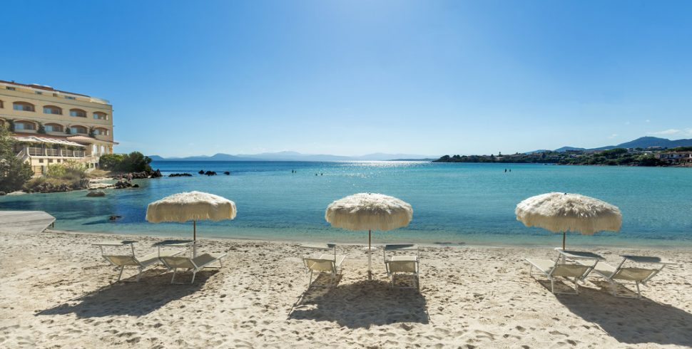 Crystal clear waters await at Gabbiano Azzurro hotel and suites
